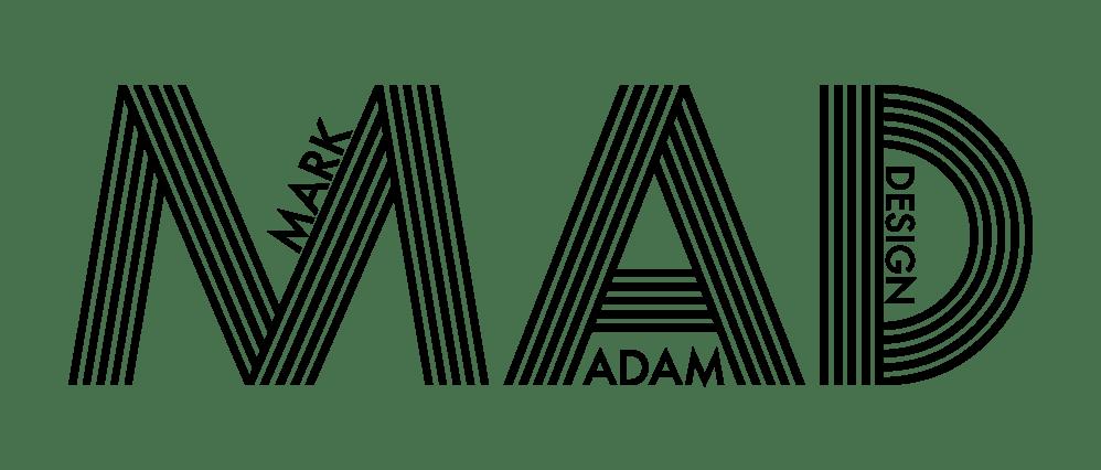 Mark Adam Design - Logo - BannerStyle-blk